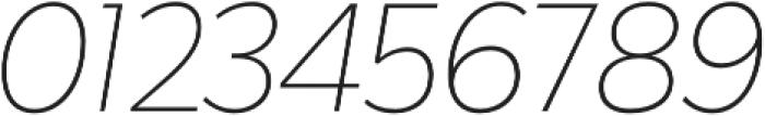 Karu ExtraLight Italic otf (200) Font OTHER CHARS