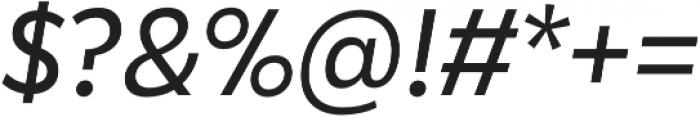 Karu Italic otf (400) Font OTHER CHARS