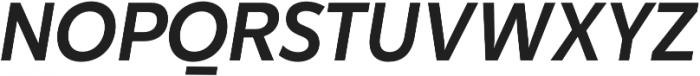 Karu Medium Italic otf (500) Font UPPERCASE