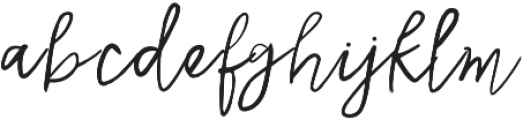 Katafont Regular otf (400) Font LOWERCASE