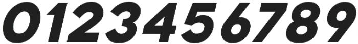 Katahdin Bold Italic otf (700) Font OTHER CHARS