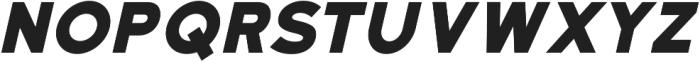 Katahdin Bold Italic otf (700) Font UPPERCASE