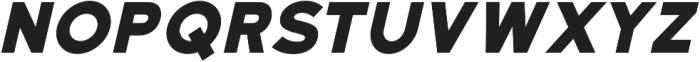 Katahdin Bold Italic otf (700) Font LOWERCASE