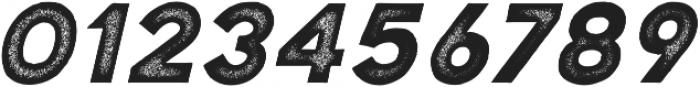 Katahdin Rough Bold Italic otf (700) Font OTHER CHARS
