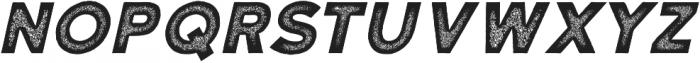 Katahdin Rough Bold Italic otf (700) Font UPPERCASE