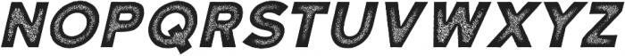 Katahdin Rough Bold Italic otf (700) Font LOWERCASE