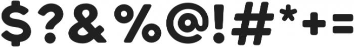 Katahdin Round Bold otf (700) Font OTHER CHARS