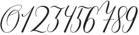 Katalyna Script Regular otf (400) Font OTHER CHARS