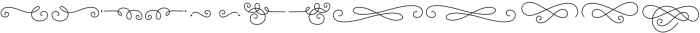 Katelyn otf (400) Font LOWERCASE