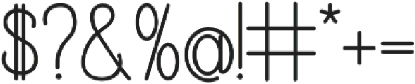 Katelyn otf (700) Font OTHER CHARS