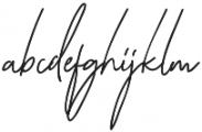 Katherine Script Regular otf (400) Font LOWERCASE