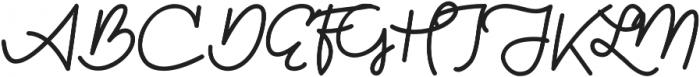 Kathullist Bold Regular otf (700) Font UPPERCASE