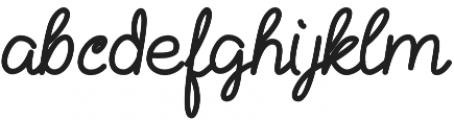 Kathullist Bold Regular otf (700) Font LOWERCASE
