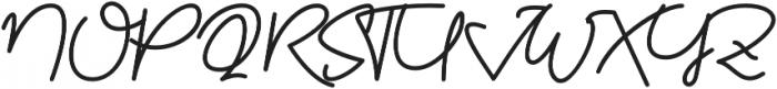 Kathullist Regular otf (400) Font UPPERCASE