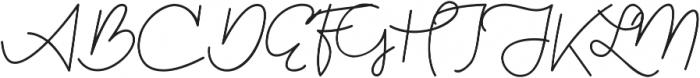 Kathullist Thin Regular otf (100) Font UPPERCASE