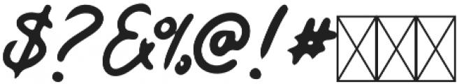 Kaysan Signature Regular otf (400) Font OTHER CHARS