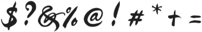 Kayto Script Standard otf (400) Font OTHER CHARS