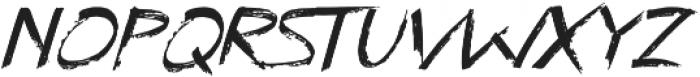Kayu Bakar Italic otf (400) Font UPPERCASE