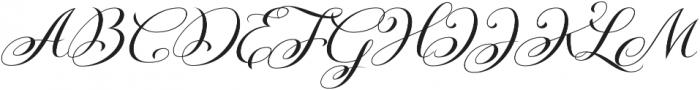 Kazincbarcika Script otf (400) Font UPPERCASE