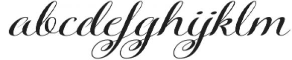 Kazincbarcika Script otf (400) Font LOWERCASE