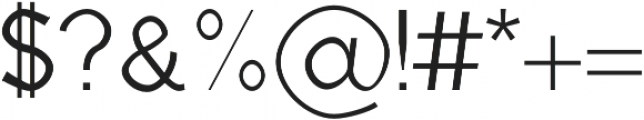 kabir Regular otf (400) Font OTHER CHARS