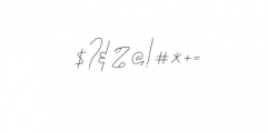 Katty Signature Font OTHER CHARS