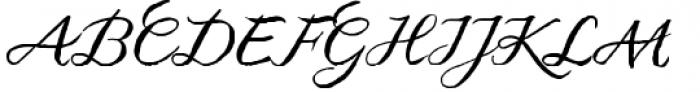 Kato Font UPPERCASE
