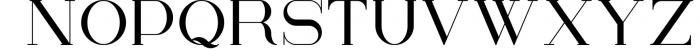 Kalorama - Font duo 1 Font UPPERCASE
