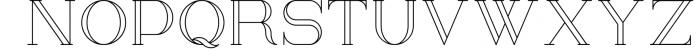 Kalorama - Font duo Font UPPERCASE