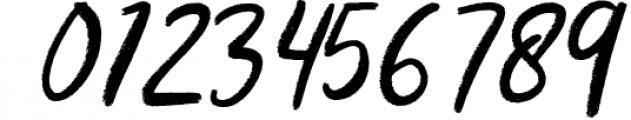 Kalyma Brush Script Font OTHER CHARS