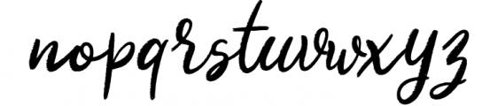 Kalyma Brush Script Font LOWERCASE