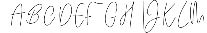 Kate Johnson - A Signature Script Font (with alternative) 1 Font UPPERCASE