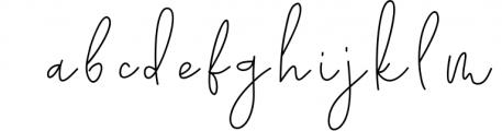 Kate Johnson - A Signature Script Font (with alternative) 1 Font LOWERCASE