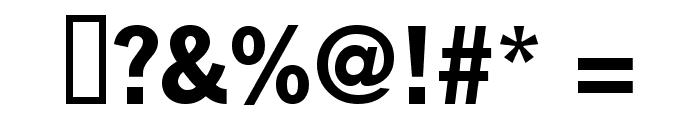 KABlokHead Font OTHER CHARS