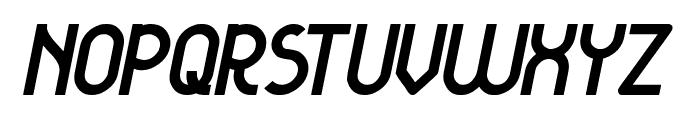 KANGAROO Punch Italic Font UPPERCASE