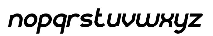 KANGAROO Punch Italic Font LOWERCASE