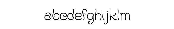 KAPastaAldente Font LOWERCASE