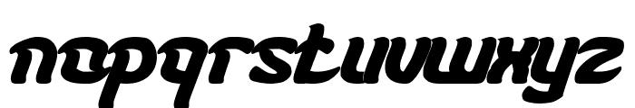 KARATE Bold Font LOWERCASE