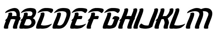 KARATE-light Font UPPERCASE