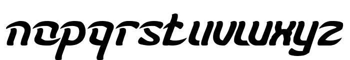 KARATE-light Font LOWERCASE