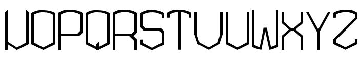 KARDON EXTRA Font LOWERCASE