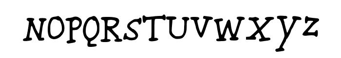 KARROOsmallcaps Font LOWERCASE
