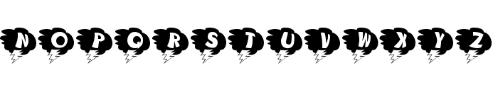 KAStorm Font UPPERCASE