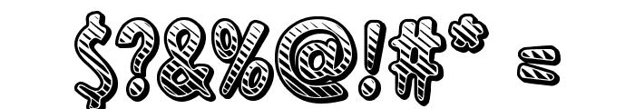 Ka-Boing! Font OTHER CHARS