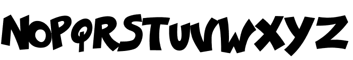 Ka-Pow! Regular Font UPPERCASE