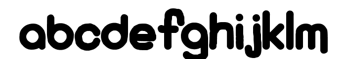 KaBoom New Font UPPERCASE