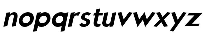 Kabala Bold Italic Font LOWERCASE