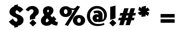 Kabala ExtBld Font OTHER CHARS