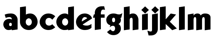 Kabala ExtBld Font LOWERCASE