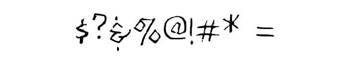 Kabbalah Sampler Medium Font OTHER CHARS